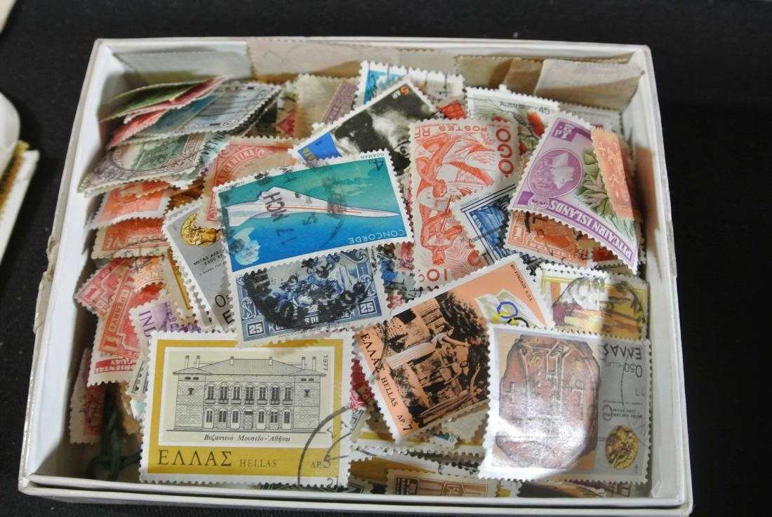 Collection Of 1000+ Stamps - 3