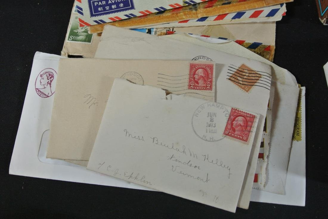 Collection Of 1000+ Stamps - 4