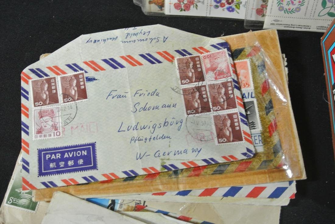 Collection Of 1000+ Stamps - 5