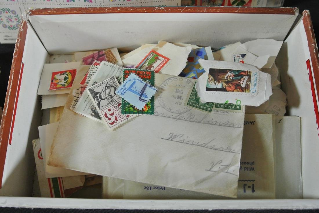 Collection Of 1000+ Stamps - 6