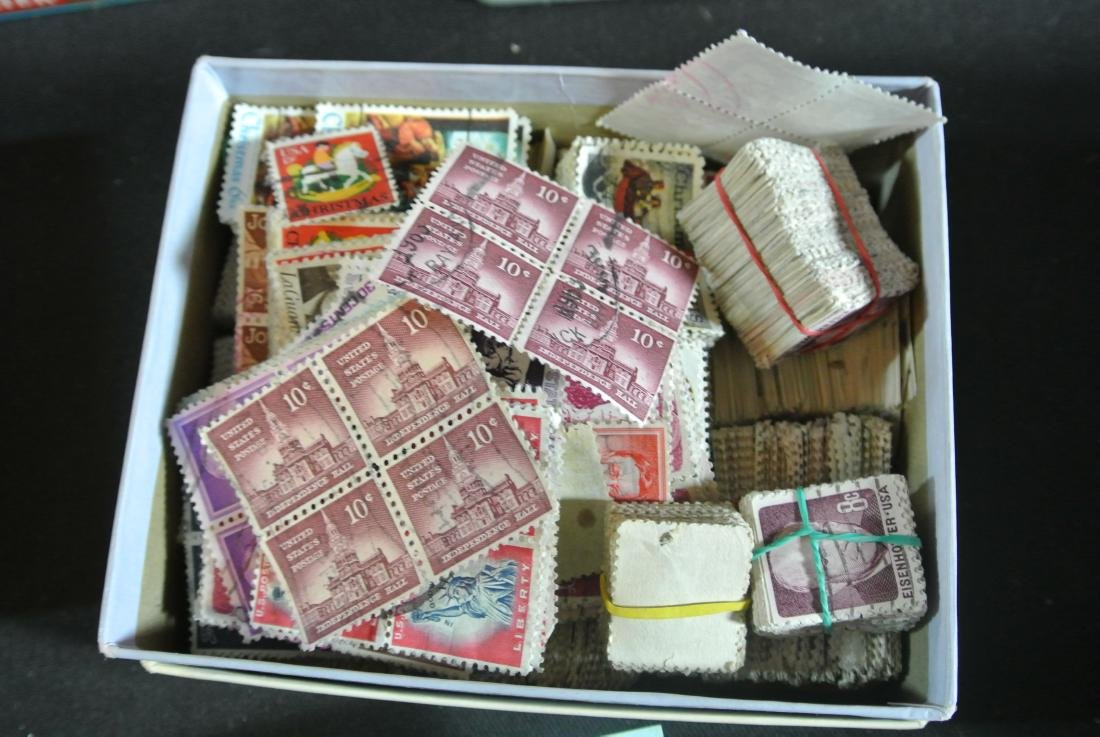 Collection Of 1000+ Stamps - 7