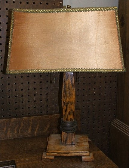 5: Mission Oak Lamp