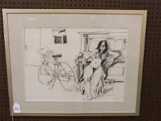 30: Nude Drawing by Zahourek