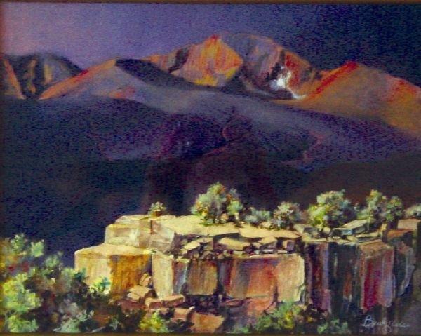 11A: Long Peak Glow by Bud Heiss