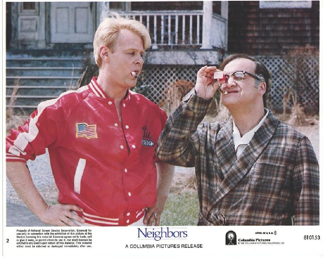 (2) Neighbors 8x10 Lobby Cards