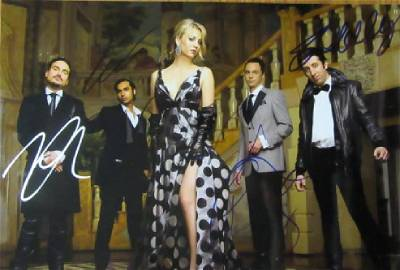 Big Bang Theory Cast Signed 11x15 In Person Signed