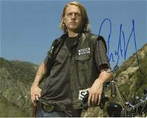 Charlie Hunnam 2 In Person Signed Photos