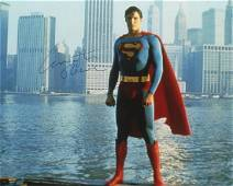 Christopher Reeve SUPERMAN Signed Photo