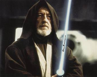 Alec Guinness STAR WARS Signed Photo #1