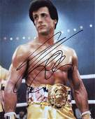 Sylvester Stallone ROCKY 2 In Person Signed Photo