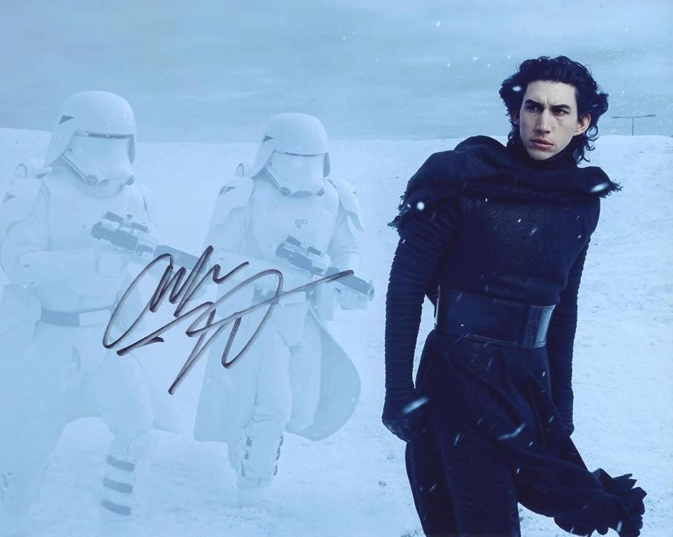 Adam Driver STAR WARS THE FORCE AWAKENS In Person