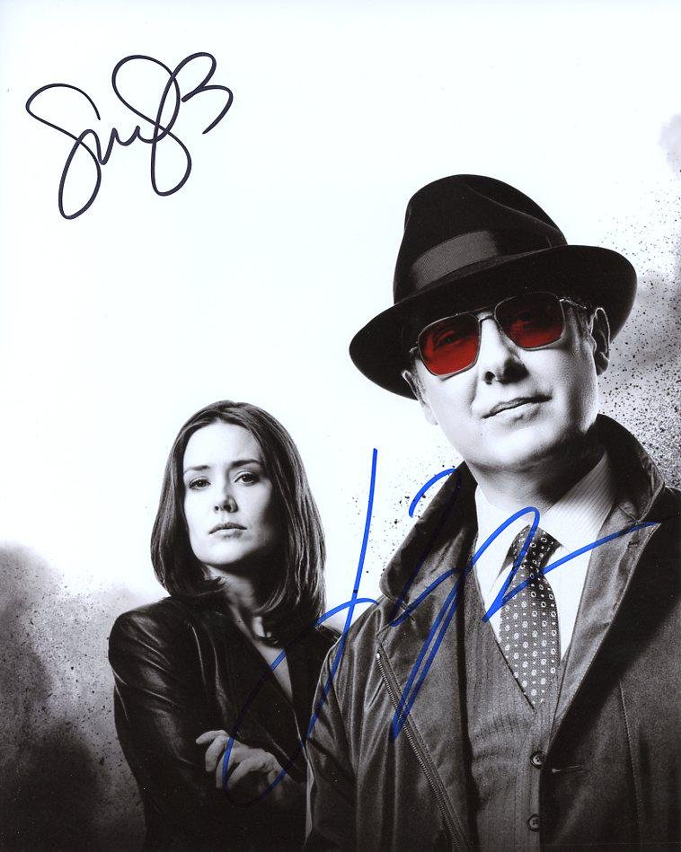 James Spader / Megan Boone BLACK LIST In Person Signed