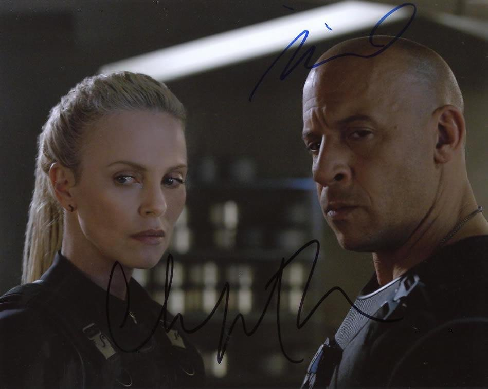 Vin Diesel / Charlize Theron FATE OF THE FURIOUS In