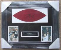 Tom Brady NE Patriots Signed Autographed Framed Matted