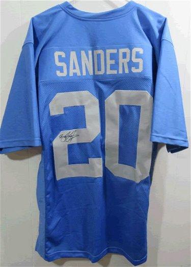 best service ea0b4 51273 Barry Sanders Detroit Lions Signed Autographed Jersey