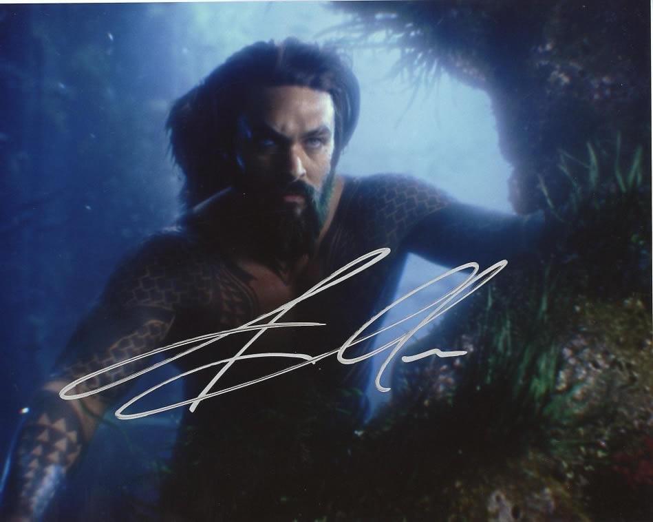 Jason Momoa AQUAMAN In Person Signed Photo