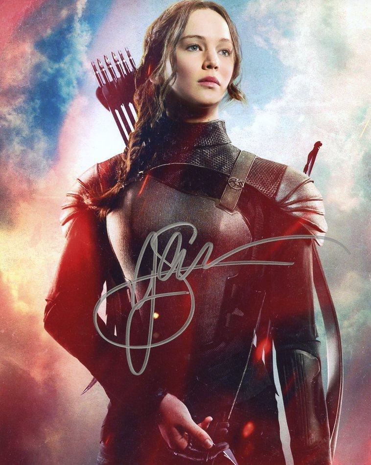 Jennifer Lawrence HUNGER GAMES MOCKING JAY PT 2 In
