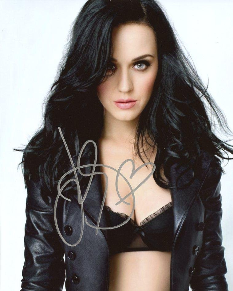 Katy Perry SEXY In Person Signed Photo