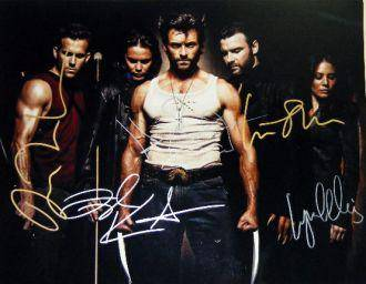 11x14 Wolverine In Person Cast Signed Photo