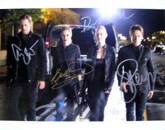 11x14 True Blood In Person Signed by 4