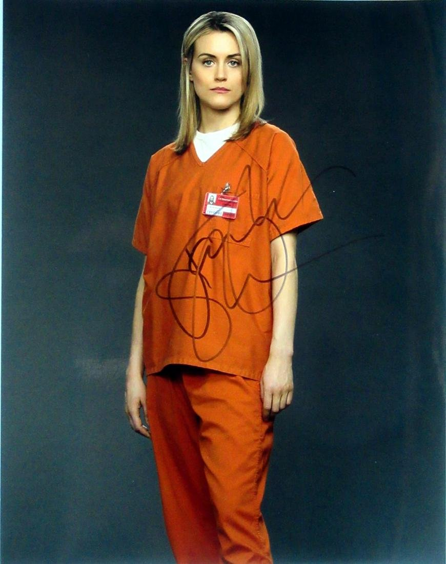 11x14 Taylor Schilling OITNB In Person Signed Photo