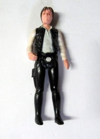 Vintage 1977 Star Wars Han Solo 3 inch Action Figure