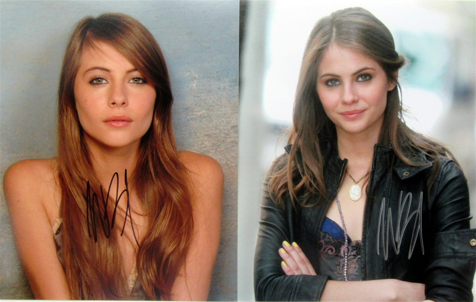 2 Willa Holland In Person Signed Photos