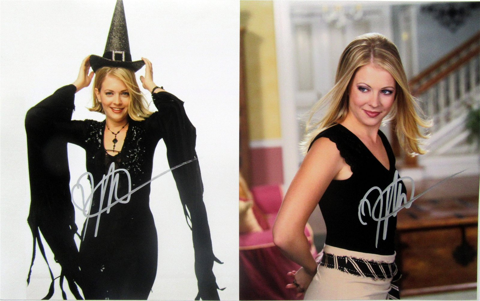 2 Melissa Joan Hart In Person Signed Photos