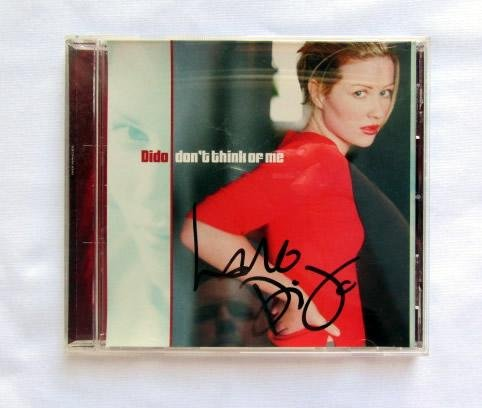 """Dido """"Don't Think Of Me"""" Signed CD"""