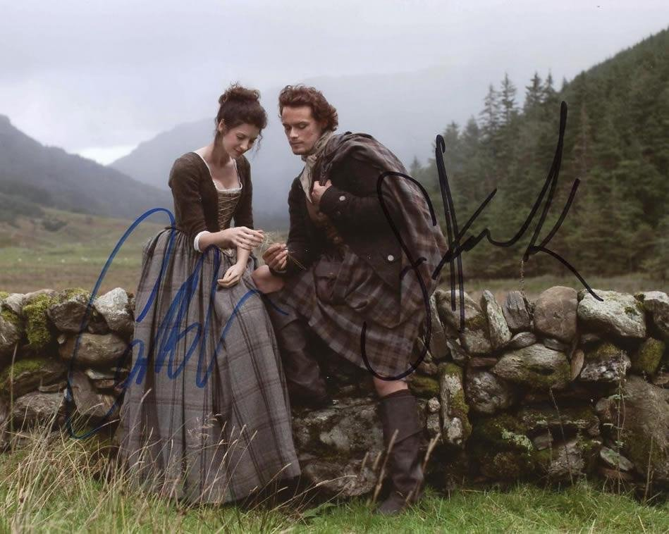 Sam Heughan / Caitriona Balfe OUTLANDER In Person
