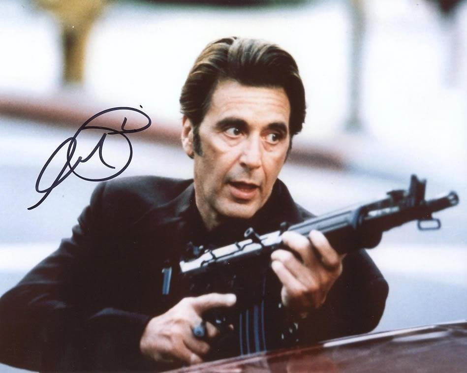Al Pacino DOG DAY AFTERNOON In Person Signed Photo