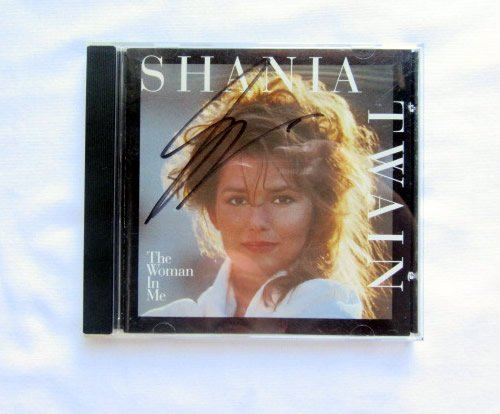 Shania Twain THE WOMAN IN ME Signed CD
