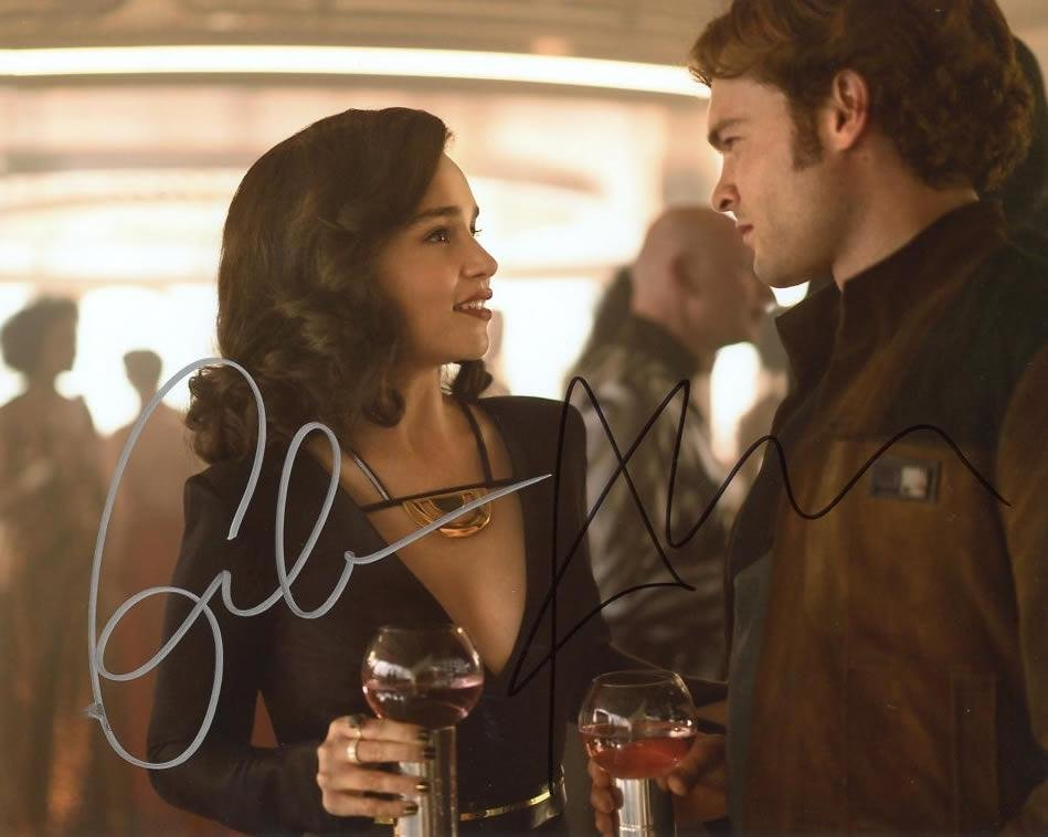 Emilia Clarke / Alden Ehrenreich STAR WARS SOLO