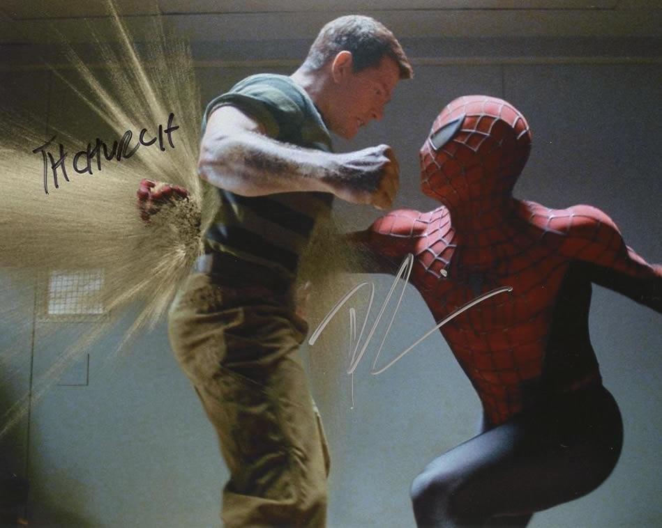 Toby Maguire / Thomas Hayden Church SPIDERMAN 2 In