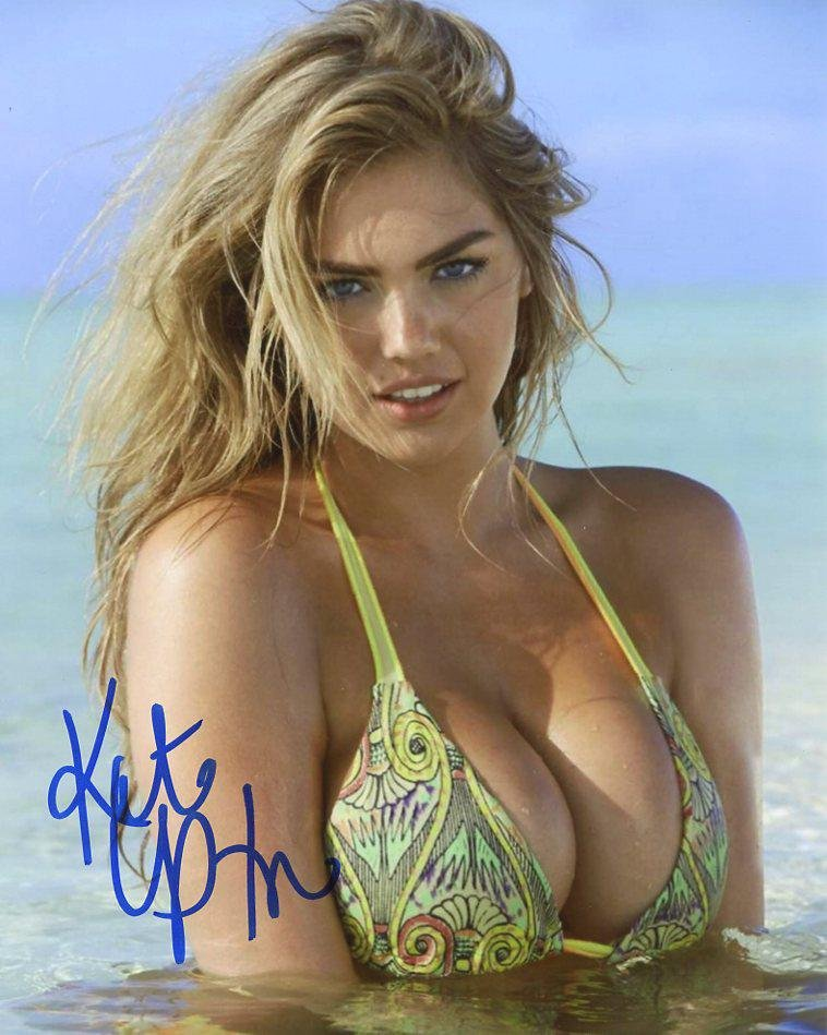 Kate Upton SEXY In Person Signed Photo #1
