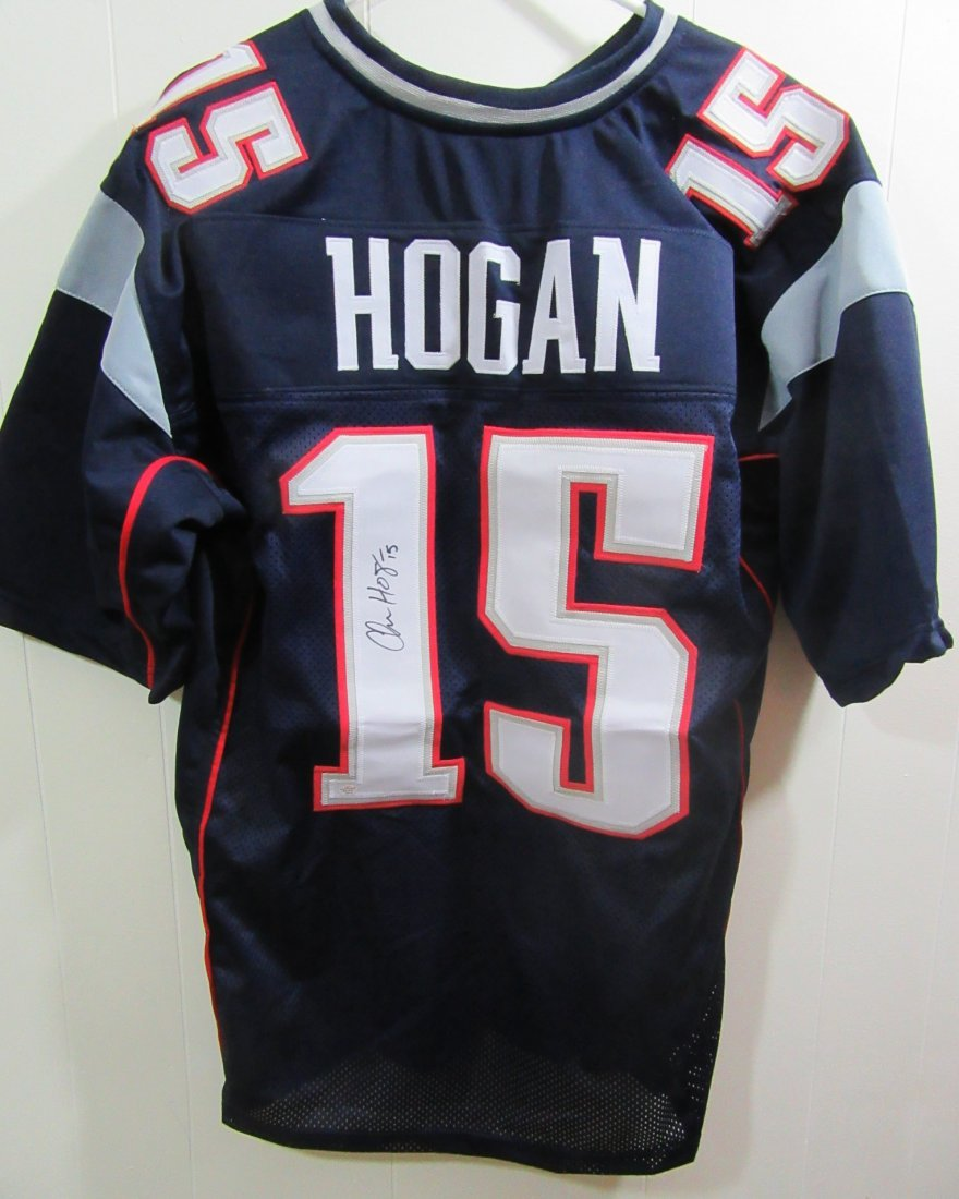 Chris Hogan NE Patriots Signed Jersey