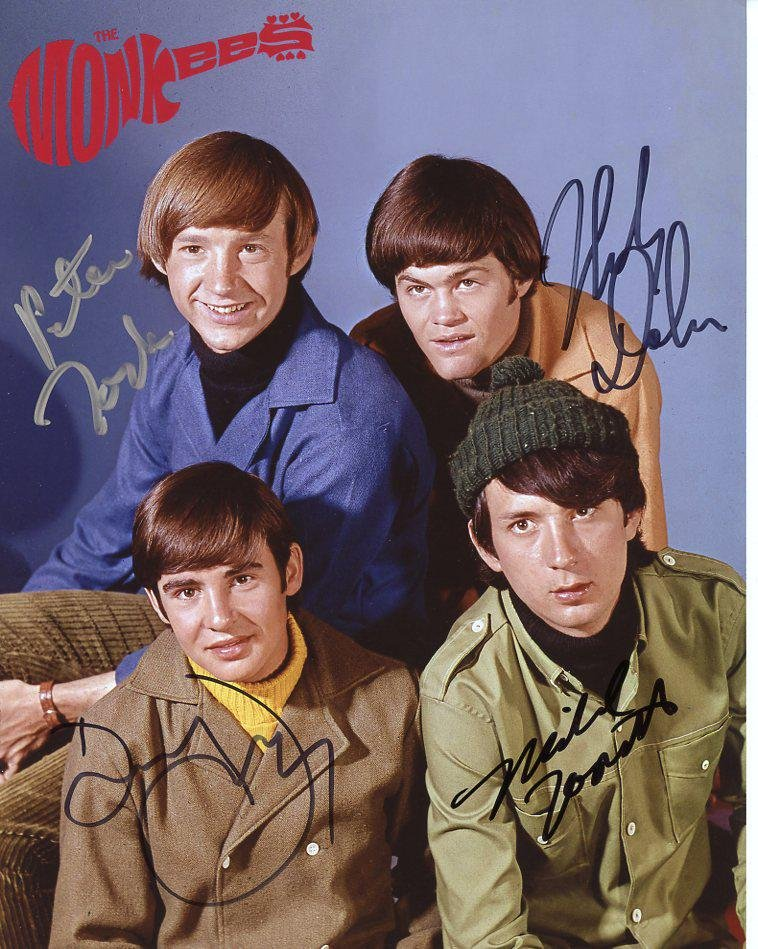 The Monkees Singed by all 4 In Person