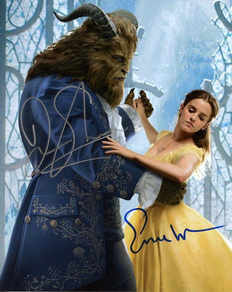 Emma Watson / Dan Stevens BEAUTY & THE BEAST In Person