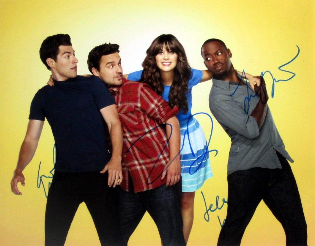 New Girl 11x14 Cast Signed Photo