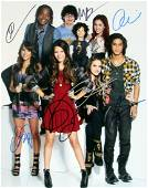 Victorious 11x14 Cast In Person Signed Photo