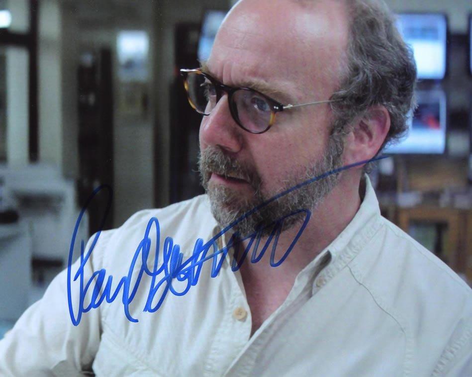 Paul Giamatti SAN ANDREAS In Person Signed Photo