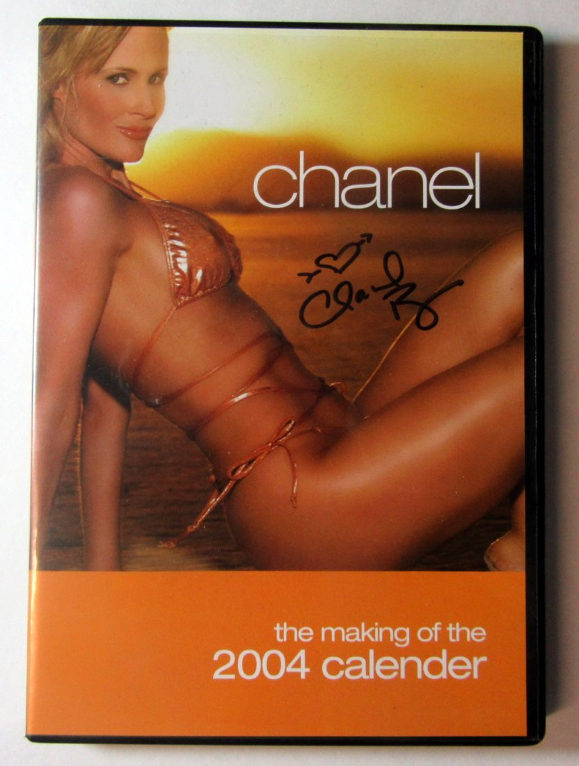 Chanel Ryan SIGNED Making of her Calendar DVD