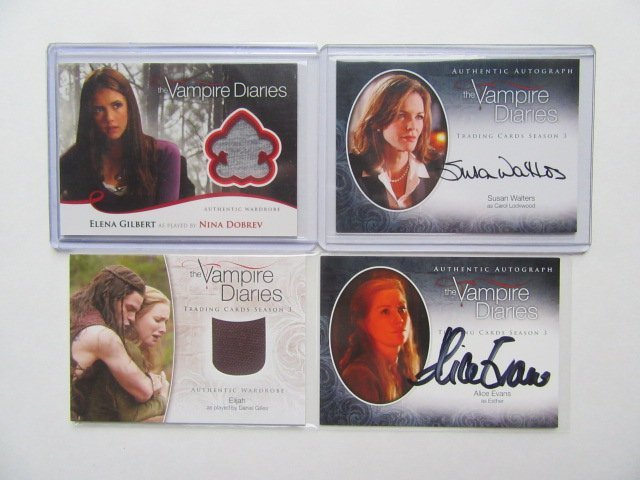 Vampire Diares 2 Swatch / 2 Singature Cards