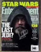 Mark Hamill Entertaiment Weekly Signed Magazine