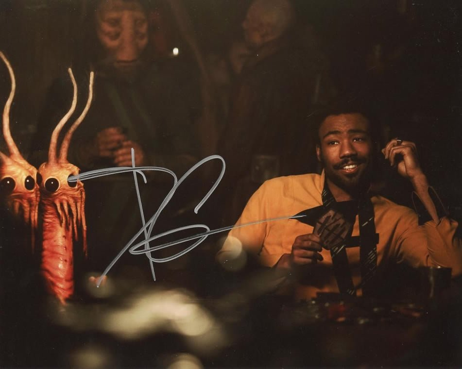Donald Glover from the movie SOLO A STAR WARS STORY #1