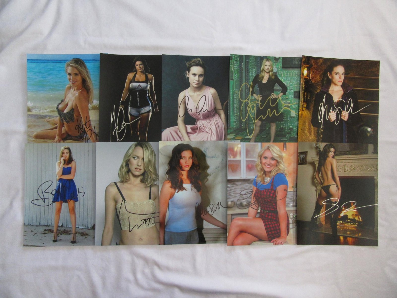 10 In Person Signed Photo Lot #10