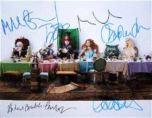Alice In Wonderland Cast 11x14 In Person Signed Photo