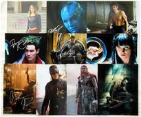 10 SUPER HERO In Person Signed Photo Lot #3