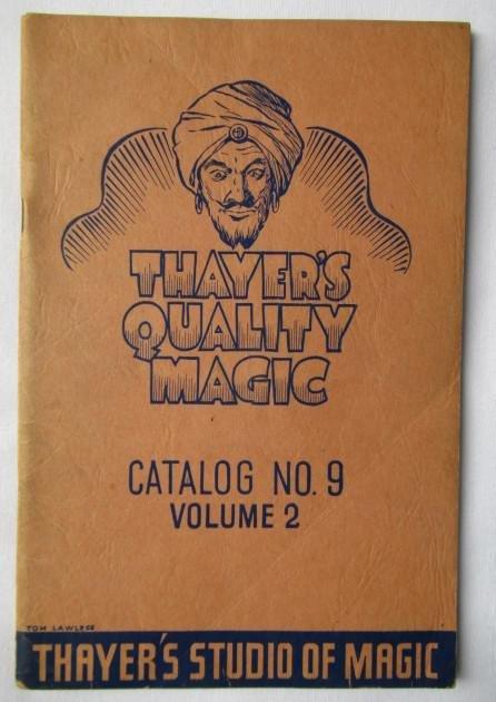 1943 THAYER MAGIC CATALOG #9 VOLUME 2 Bill Larsen