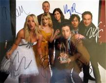 Big Bang Theory 11x14 Cast Signed Photo by All!